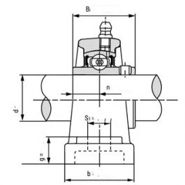 UCP208 Bearing Units-2 Bolt Pillow Block Units